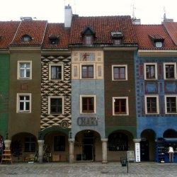 Kamieniczki na poznanńskim rynku